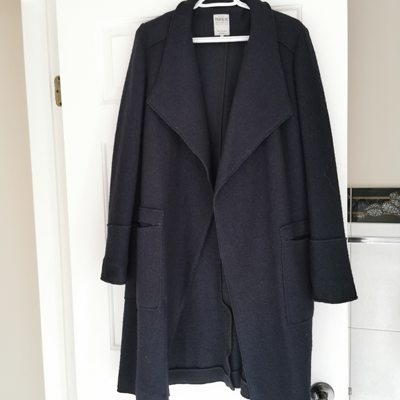 Zara long cape coat